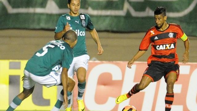 Flamengo-empata-com-Gois-na-estreia-do-Brasileiro-2014