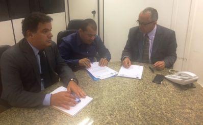 Cafu Barreto se reúne com secretário estadual de Relações Institucionais