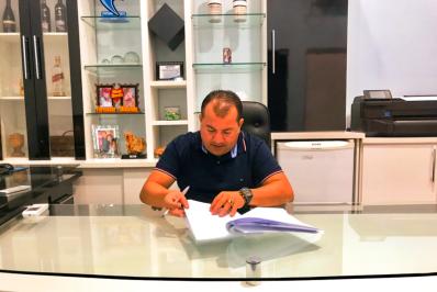 Prefeito assina convênio de mais de R$ 2 milhões para abastecimento no Berço da Vereda