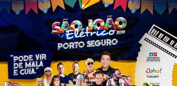 Porto Seguro lança São João Elétrico 2019