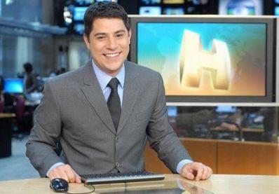 Evaristo Costa deixa o Jornal Hoje