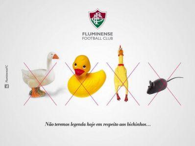 Provocação: Após goleada, Flu ironiza 'bichinhos' do São Paulo