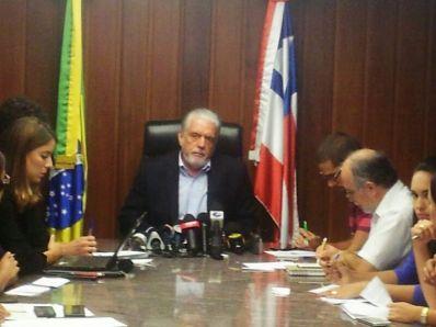 Greve da PM: governador atribui movimento a questões políticas