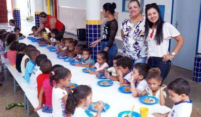 Ibititá: Rede Municipal é destaque em alimentação saudável e balanceada