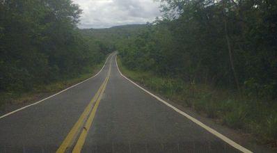 Perigos na estrada de Lençóis