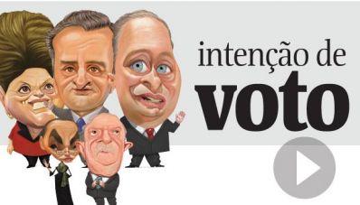 Dilma tem 38%, Aécio,16%, e Campos, 10%, diz Datafolha