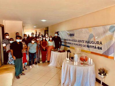 Cuidando da nossa gente, Ibititá inaugura nova casa de Saúde na capital