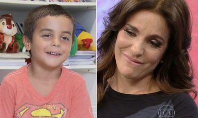 Ivete Sangalo chora com mensagem do filho no Dia das Mães