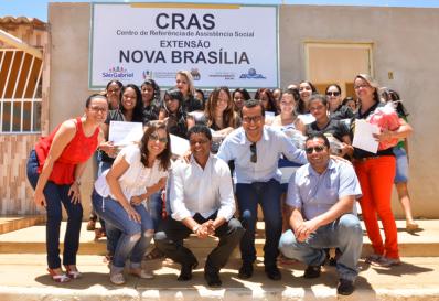 Investindo na área social, Prefeitura de São Gabriel inaugura extensão do CRAS