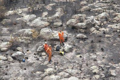 Corpo de Bombeiros decreta extinção dos incêndios na Chapada Diamantina