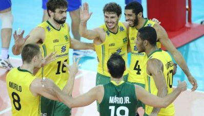 Brasil bate a Itália e avança para a final da Liga Mundial