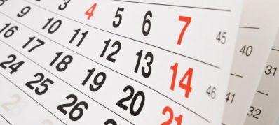 Governo divulga lista de feriados e pontos facultativos em 2018