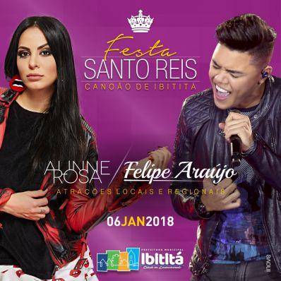 Com as bênçãos dos Santos Reis, Ibititá vai começar 2018 com energia positiva e boas vibrações