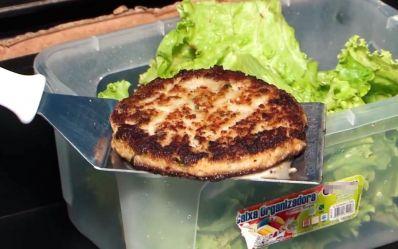 Aprenda a fazer hambúrguer de tilápia