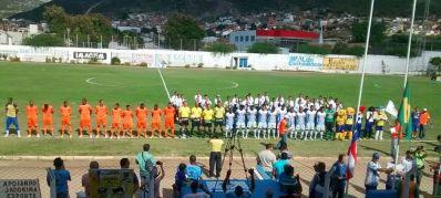 Em jogo histórico, Jacobina goleia Ipitanga por 4 X 1