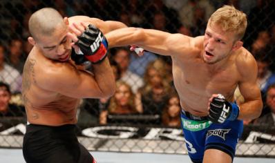 UFC: Dillashaw vence Barão por nocaute técnico e conquista cinturão
