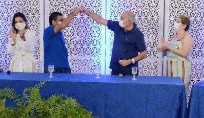 Luizinho Sobral LARGA NA FRENTE e anuncia Ló Saraiva como pré-candidato a vice