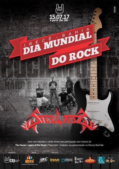 Irecê celebra Dia Mundial do Rock