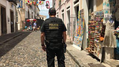 Polícia Federal combate serviços de câmbio ilegal na região do Pelourinho