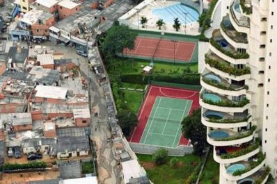 Brasil é o 7º país mais desigual do mundo