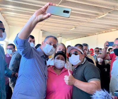 Gente boa, do bem, diz governador sobre Cafu Barreto