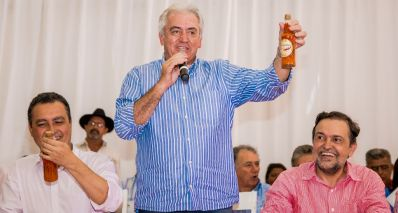 Otto Alencar lança slogan da campanha de Rui Costa