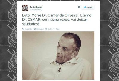 Morre em São Paulo médico e comentarista Osmar Oliveira