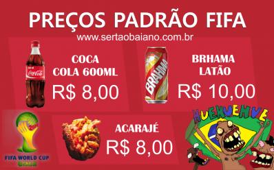 Padrão FIFA: Confira preços de comidas e bebidas nos estádios durante a Copa