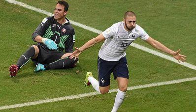França goleia Suíça e encaminha classificação às oitavas
