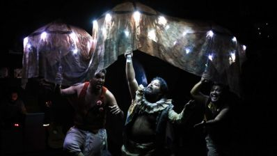 Grupos da Bélgica e Espanha participam de festival de teatro em Irecê