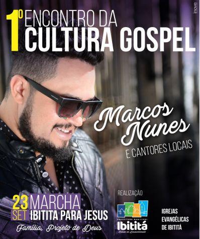 Encontro da Cultura Gospel acontece dia 23 em Ibititá