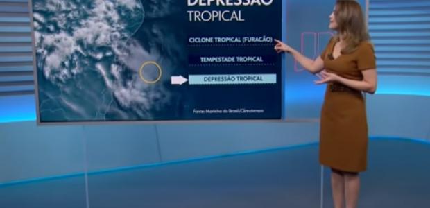 Furacão Iba pode causar ventos de até 87 km/h na Bahia