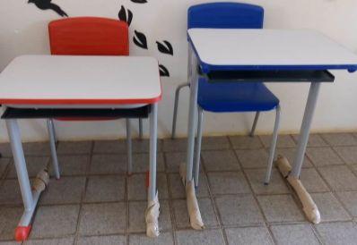 Com Plano de Ações Articuladas, Gabriel renova mobiliários das escolas municipais