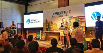 Projetos de Irecê e Souto Soares recebem prêmio Prefeito Empreendedor
