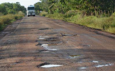 De mal a pior: 64% das rodovias baianas são de regulares a péssimas