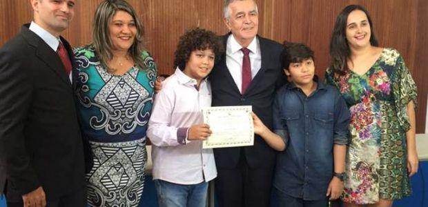 Dr. Celso é diplomado em João Dourado
