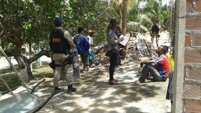 Auditores fiscais resgatam 30 vítimas de trabalho escravo em Pojuca e Entre Rios