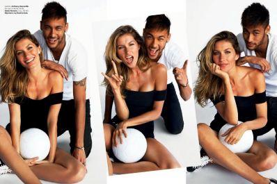Gisele Bündchen desbanca Neymar e é campeã em publicidade em 2014