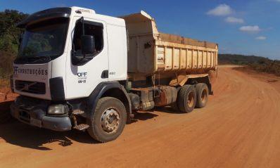 Empresa inicia drenagem da estrada entre Ibititá e Canoão