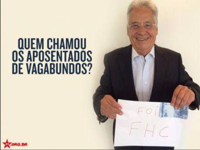 Fernando Henrique faz piada com nota de Real; PT rebate