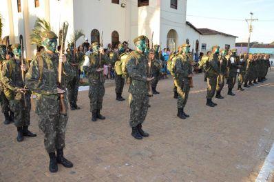 Ibititá: população prestigia desfile cívico e ressalta importância do Sete de Setembro