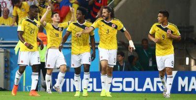 Tchau, fantasma! Colômbia elimina o Uruguai e entra na rota do Brasil