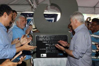 Governo do Estado inaugura estrada entre Ruy Barbosa e Itaberaba