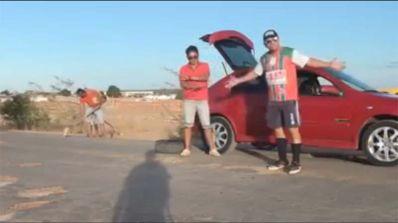 Moradores fazem vídeo e satirizam governo da Bahia por abandono da BA-144