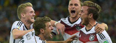 Alemanha é tetracampeã da Copa do Mundo