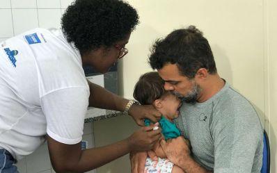 Vacinação contra pólio e sarampo é prorrogada até sexta no estado