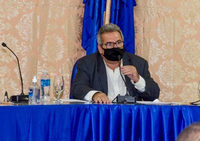 Marcão é eleito presidente da Câmara Municipal de Uibaí