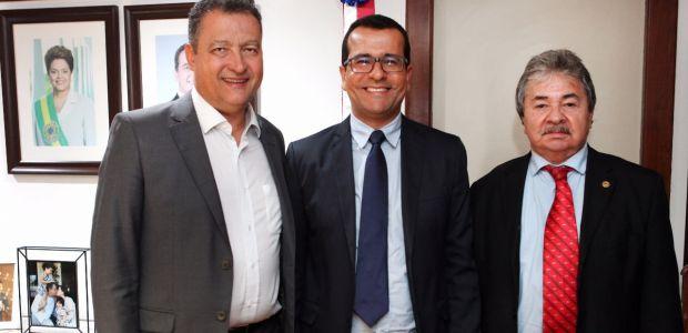 Prefeito de São Gabriel se encontra com governador Rui Costa