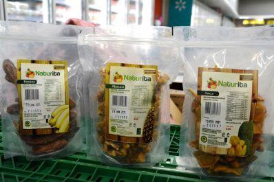 Frutas desidratadas da agricultura familiar chegam aos supermercados