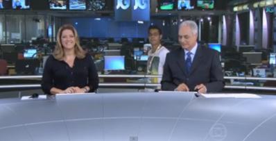 Funcionário invade transmissão ao vivo no Jornal da Globo